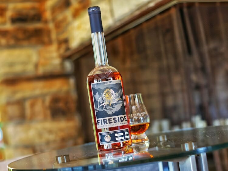 Fireside Single Barrel Four Year Old Straight Bourbon Whiskey Review